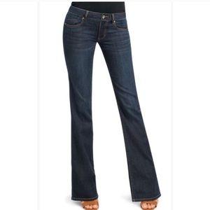 CAbi Zoe Flare Leg Dark Denim Jeans Size 2